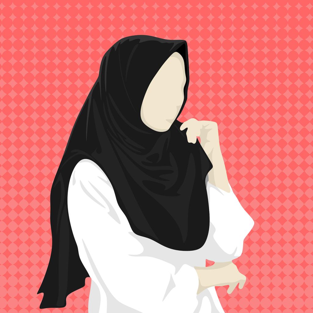 hijab, jilbab, women